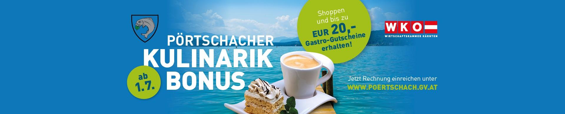 Pörtschacher Kulinarik-Bonus