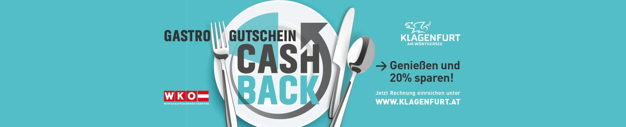 20 % Cashback auf Gastro-Gutscheine